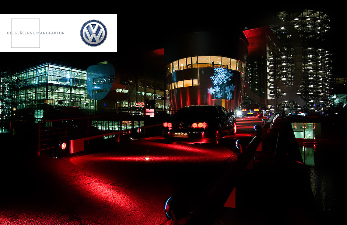 VW Gläserne Manufaktur - Design | Animation | Videopräsentation